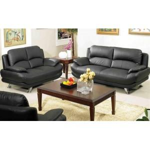 Alice Leather Sofa And Loveseat Set