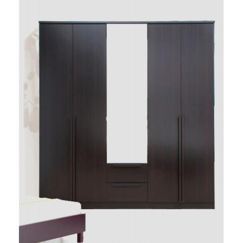 Massimo Wardrobe 5 Doors