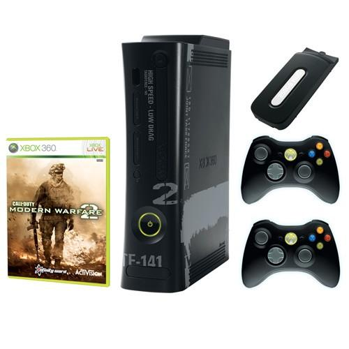 Xbox 360 System   Call Of Duty  Modern Warfare 2 Limited Edition  NTSC UC  110 V