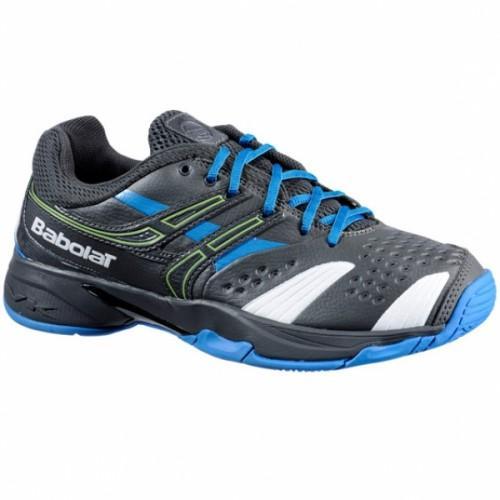 Babolat Drive 2 Grey Blue Men Tennis Shoes 2012