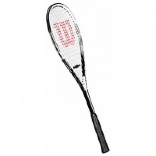 Wilson Hyper Titanium X5 Squash Racquet  Black