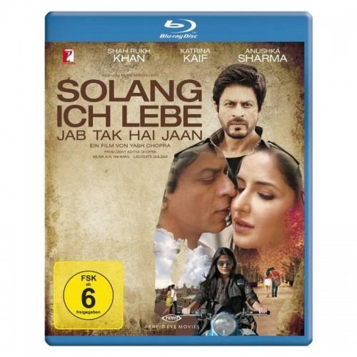 Jab Tak Hai Jaan Bluray  DVD Movie Bluray