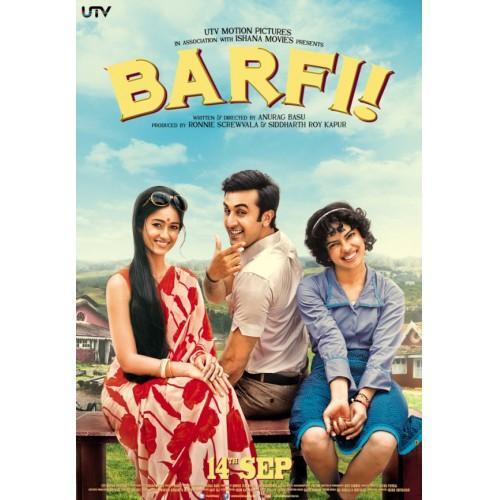 Barfi Movie DVD
