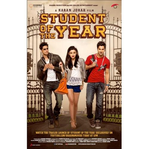 Student Of The Year Movie DVD