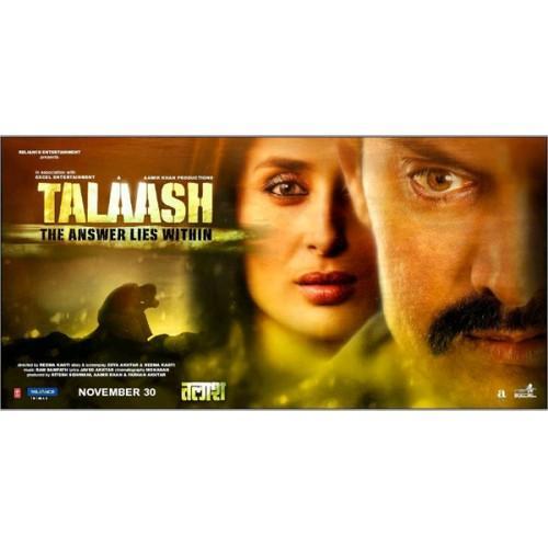 Talaash Movie DVD
