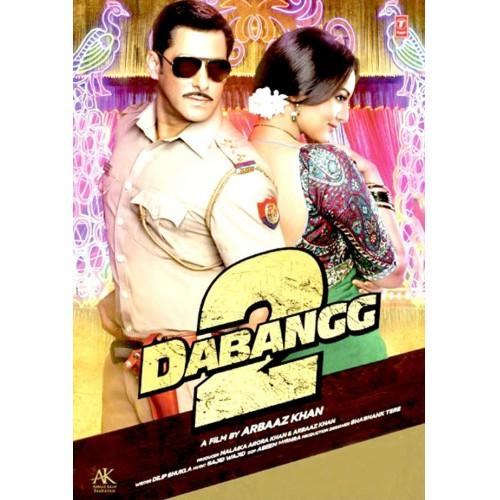 Dabangg 2 Movie DVD