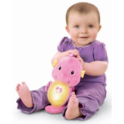 Fisher Price Ocean Wonders Soothe And Glow Seahorse  Pink